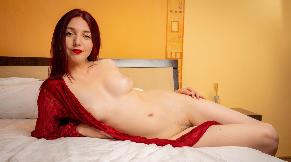Redhead Boudoir Classic Nude